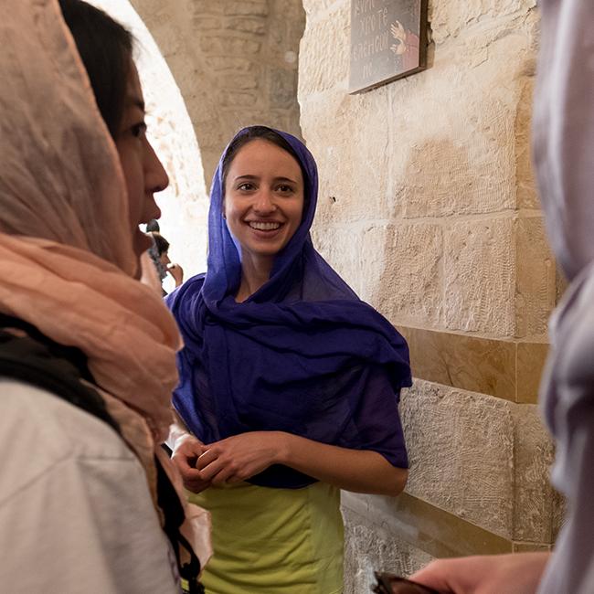 Kroc Institute student in Jerusalem