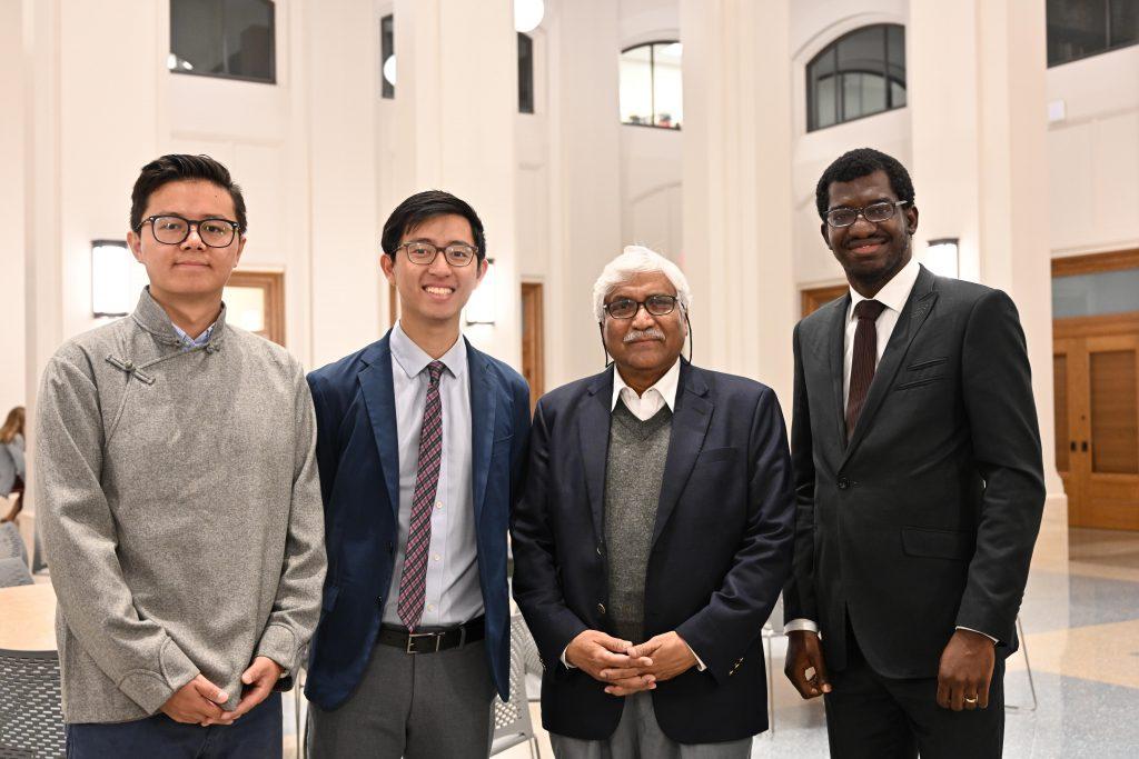 Atiq Rahman with students