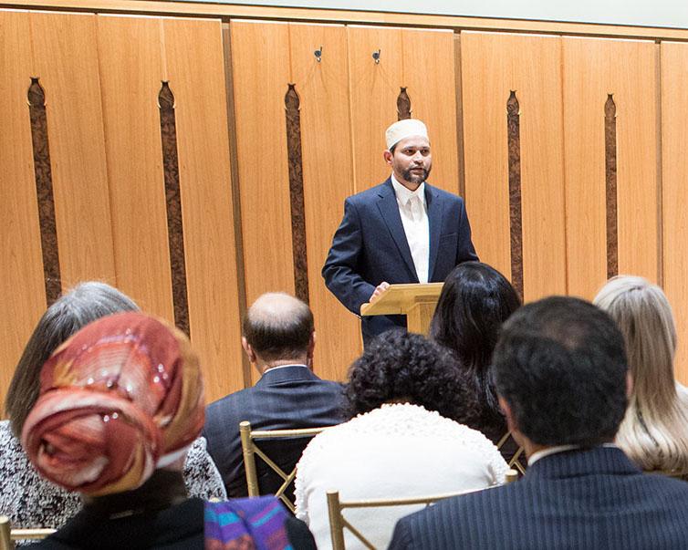 Ansari Institute opening prayer