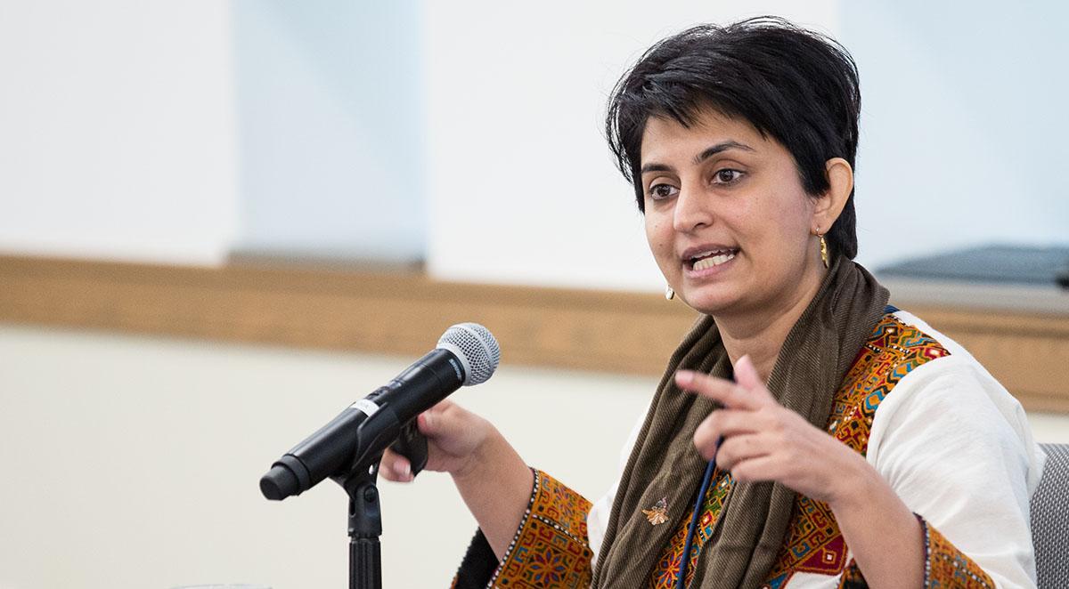Nosheen Ali speaking