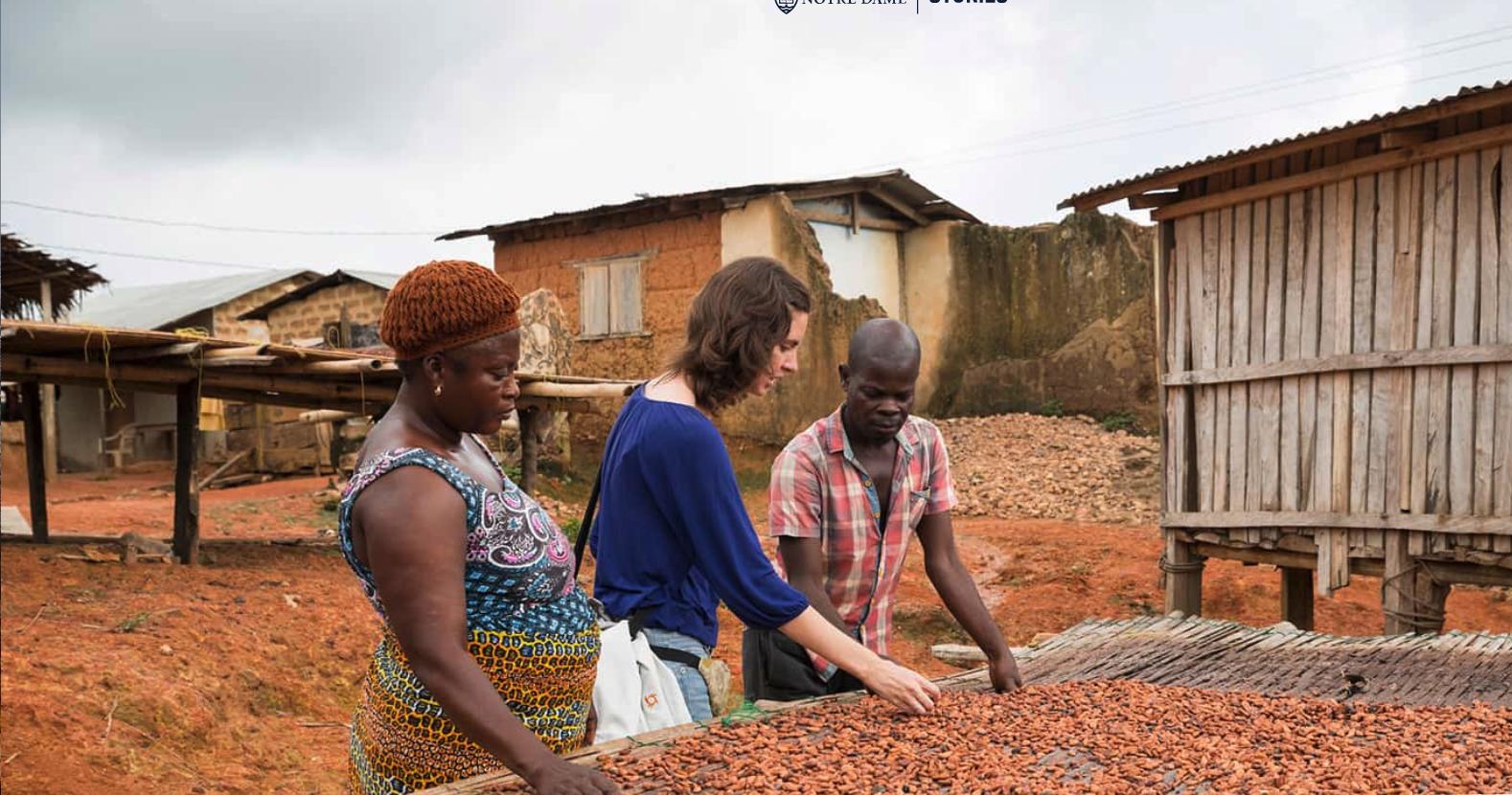 Sofia cocoa farmers Ghana