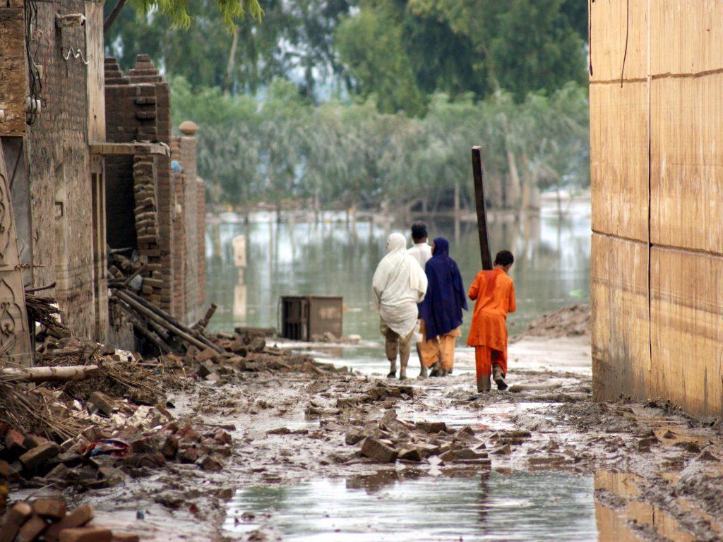 Flooding in Nowshera, Pakistan
