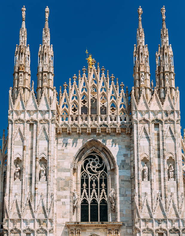 Madonnina, Milan cathedral photo