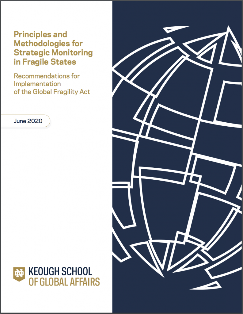 Cover image: Principles and Methodologies for Strategic Monitoring in Fragile States