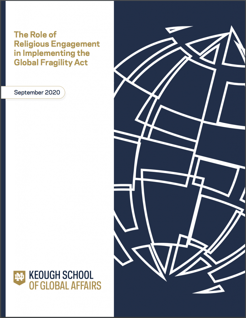 Cover image: The Role of Religious Engagement in Implementing the Global Fragility Act
