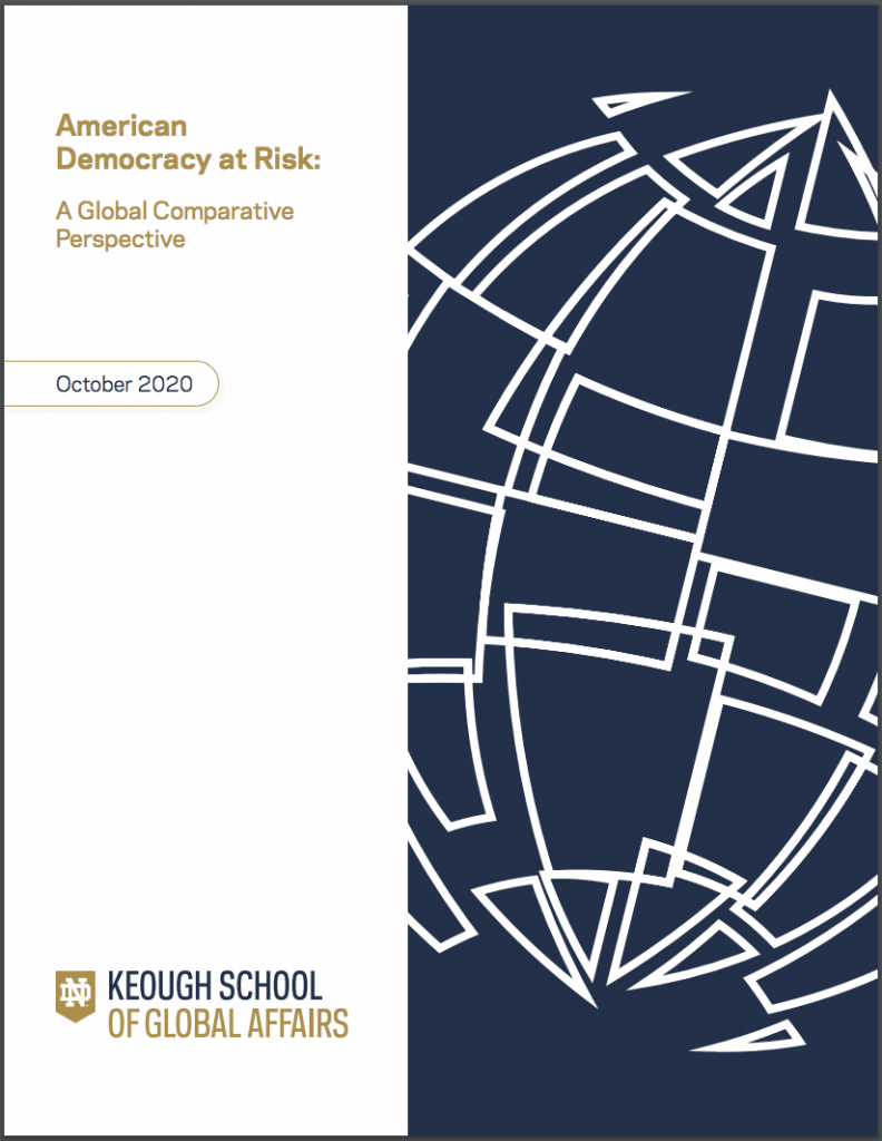 Cover image: American Democracy at Risk: A Global Comparative Perspective