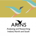 Green logo for the new ARINS project