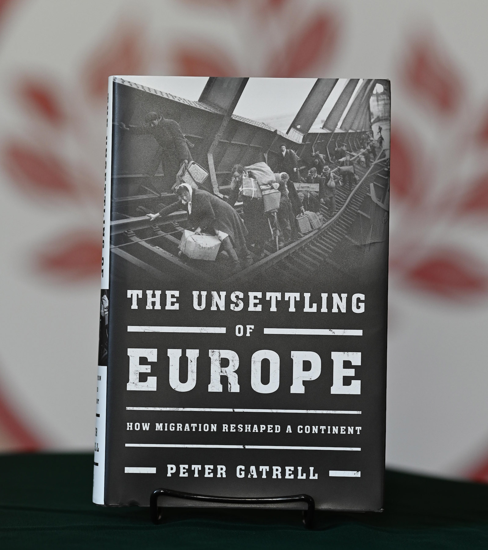 photo of the book the unsettling of europe displayed on a table