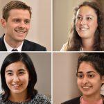 Headshots of Steven Wagner, Rachel Gagnon, Theresa Puhr, Jasmine Passa
