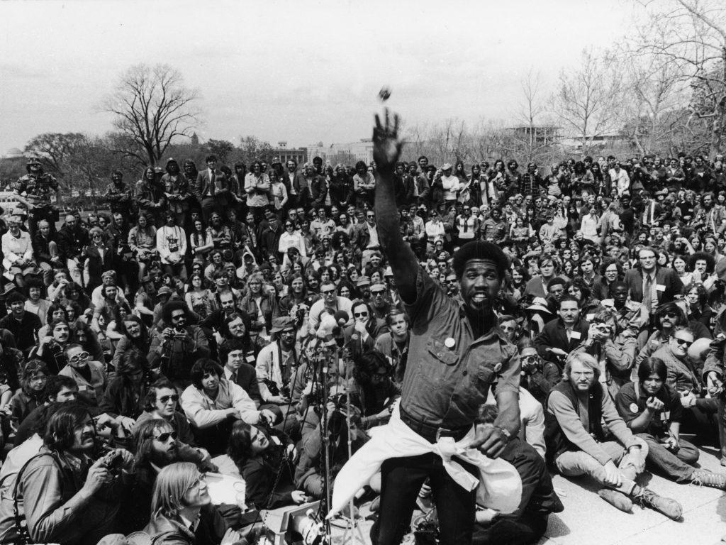 Veteran protest in 1971 in Washington, DC
