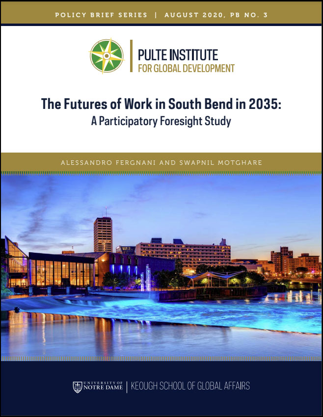 Cover image: The Futures of Work in South Bend in 2035: A Participatory Foresight Study