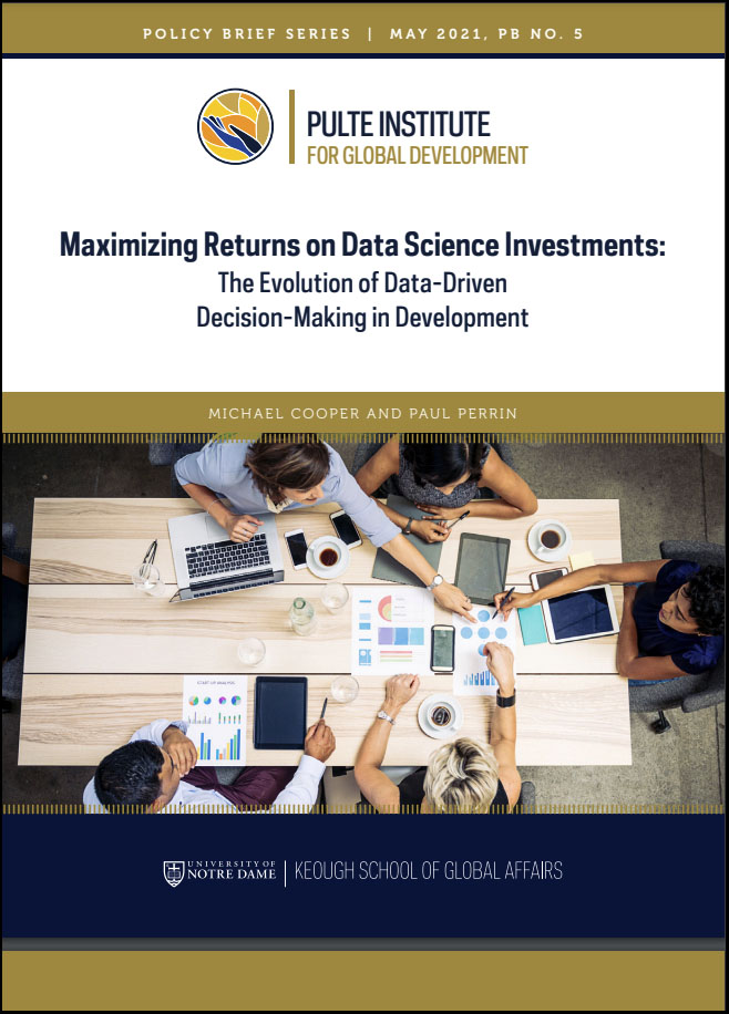 Cover image: Maximizing Returns on Data Science Investments: The Evolution of Data-Driven Decision-Making in Development