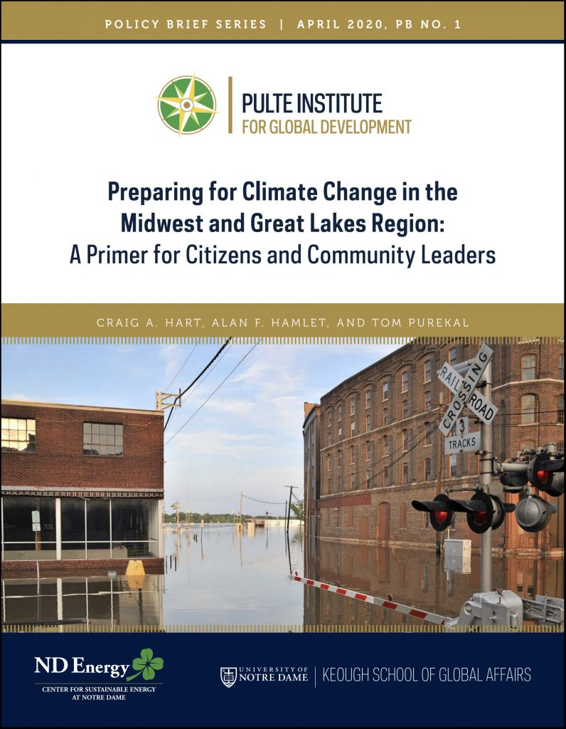 Cover image: Preparing for Climate Change in the Midwest and Great Lakes Region: A Primer for Citizens and Community Leaders