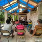 A focus group with Notre Dame students and faculty in Haiti